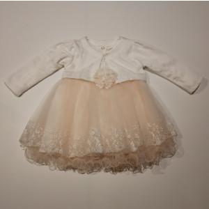 Φόρεμα Και Μπολερό Βρεφικό Σομόν 747.330.003