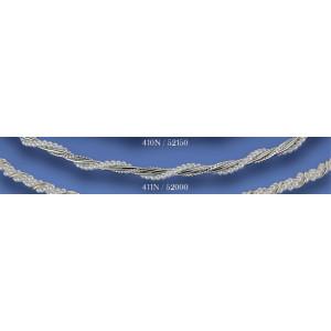 Στέφανα μεταλλικά με πέρλες 411N(52000)