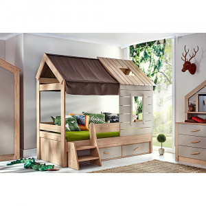 Κρεβάτι Bebe stars (My House 425-04)