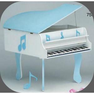 Κουτί ξύλινο πιάνο (Κωδ.Κ190-3)