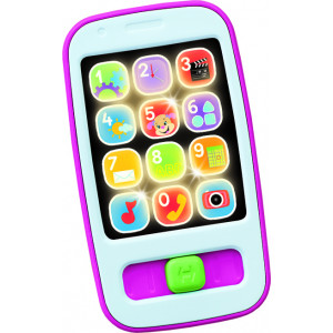 Fisher price Εκπαιδευτικό Smart Phone Ροζ (Κωδ.390.73.203)