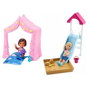 Barbie Skipper Babysitters (Διάφορα Σχέδια) (FXG97)