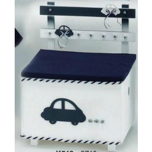 Ξύλινο παγκάκι αυτοκίνητο (Κωδ.Κ513-1)