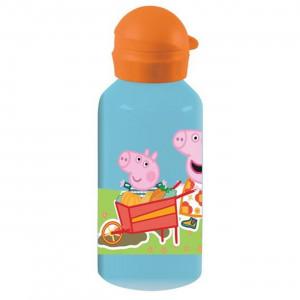 Παγούρι Μεταλλικό Peppa- George Pig (Σιελ) (#760.239.012+2#)