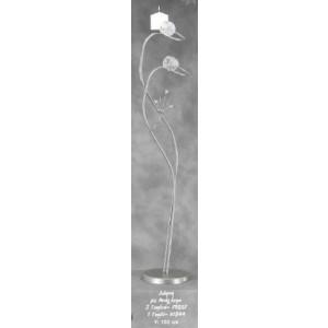 Λαμπάδα Φωτιστικό Δάφνη με Ανάγλυφο Γυαλί (Κωδ.79057) (Η τιμή αφορά 2 Τεμάχια)
