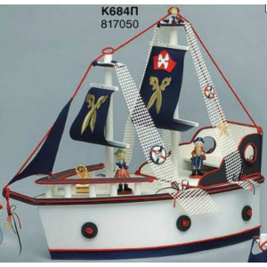 Ξύλινο καράβι βάπτισης πειρατές (Κ684Π)