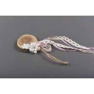 Μπομπονιέρα χειροποίητη λουλουδάκια (Κωδ.50.02.314-075) 6cm
