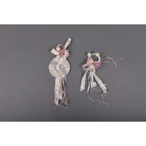 Μπομπονιέρα χειροποίητη κλειδί (Κωδ.50.02.702-1.20) 20cm