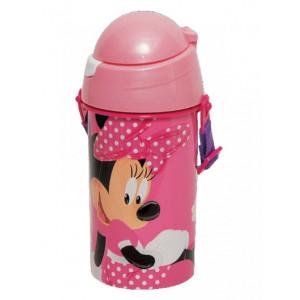 Πλαστικό Παγούρι Minnie Disney (Με Λουράκι) (Κωδ.151.539.031)