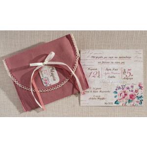 Προσκλητήριο Floral  (Biniatian Κωδ.5132-1117)