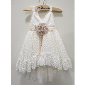 Ολοκληρωμένο πακέτο βάπτισηs με αυτό το φόρεμα (La christine #)Κ-19-131-127# Με βαλίτσα rain η παγκάκι θρανίο Δωρεάν μεταφορικά