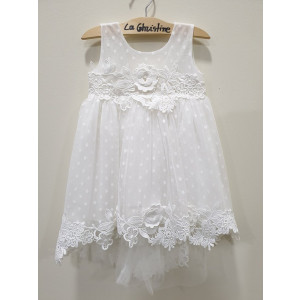 Ολοκληρωμένο πακέτο βάπτισηs με αυτό το φόρεμα (La christine #Κ-19-209-135#) Με βαλίτσα rain η παγκάκι θρανίο Δωρεάν μεταφορικά