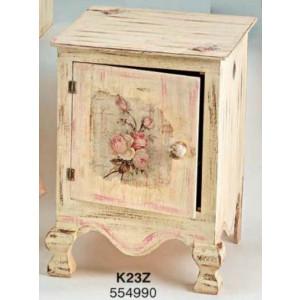 Ξύλινο κουτί  κομοδίνο (Κ23Ζ)