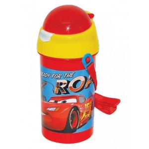 Πλαστικό Παγούρι Cars Disney (Με καλαμάκι) (Κωδ.151.539.062)
