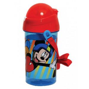 Πλαστικό Παγούρι Mickey Disney (Με καλαμάκι) (Κωδ.151.539.061)