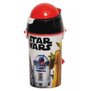 Πλαστικό Παγούρι StarWars Disney (Με καλαμάκι) (Κωδ.151.539.065)