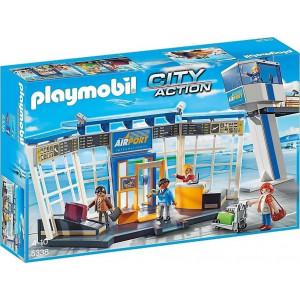 Playmobil, Αεροδρόμιο, Πύργος Ελέγχου, 5338, παιδικό παιχνίδι, narlis.gr