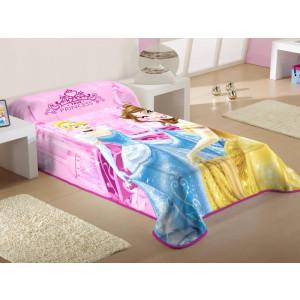 Κουβέρτα Princess Disney (Κωδ.621.538.009) (Με Δωροεπιταγή 10,40 €)