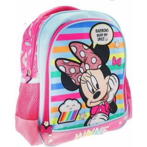 Τσάντα πλάτης Minnie 2 θήκες (#760.001.043#)