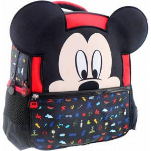Τσάντα πλάτης Mickey 2 θήκες (#760.001.048#)