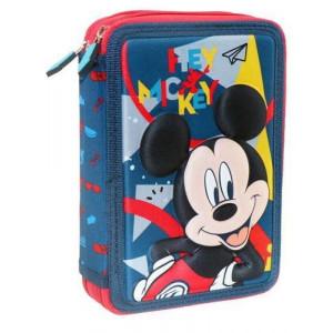 Κασετίνα Διπλή γεμάτη Mickey (#760.001.052#)