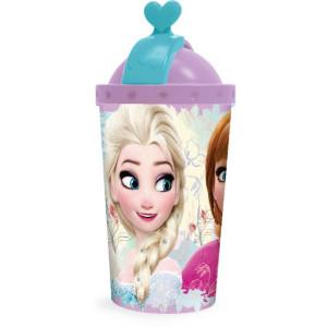 Παγούρι Frozen 450ml πλαστικό με καλαμάκι (#760.239.017#)