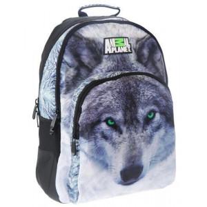 Τσάντα πλάτης Δημοτικού Λύκος (#760.355.001#)
