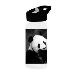 Παγούρι μεταλλικό με καλαμάκι Animal Planet (Μαύρο) (#760.239.020+13#)