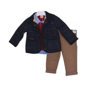 Μπουφάν μπλούζα και παντελόνι Σετ 077.129.080