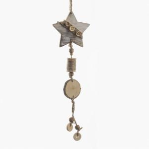 Μπομπονιέρα Αστέρι Κρεμαστό (Παρίσις) (Κωδ.57269-1164)