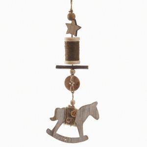 Μπομπονιέρα αλογάκι κρεμαστό (Parisis Κωδ.57275-1169)