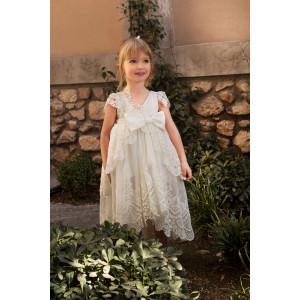 Ολοκληρωμένο πακέτο σετ βάπτισης κορίτσι Dolce Bambini  578-1-170. Με Βαλίτσα η παγκάκι θρανίο και με άλλες επιλογές !!
