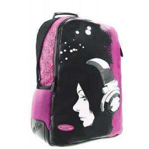 Τσάντα πλάτης 3 θήκες Κοπέλα με ακουστικά (#760.355.012#)