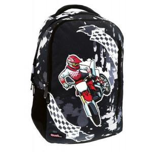 Τσάντα πλάτης δημοτικού Must Μοτοσυκλέτα (#760.355.009#)