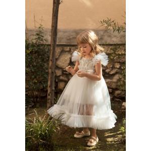 Ολοκληρωμένο πακέτο σετ βάπτισης κορίτσι Dolce Bambini  580-1 narlis.gr