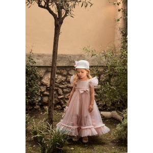Ολοκληρωμένο πακέτο σετ βάπτισης κορίτσι Dolce Bambini  580-8 narlis.gr