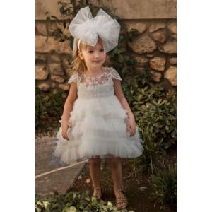 Ολοκληρωμένο σετ βάπτισης κορίτσι Dolce Bambini 586-1 narlis.gr
