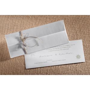 Προσκλητήριο Γάμου Λουλουδάκια (Biniatian) (Κωδ.599-066)