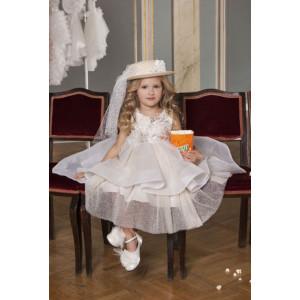 Ολοκληρωμένο πακέτο σετ βάπτισης κορίτσι Dolce Bambini 6018-1 narlis.gr
