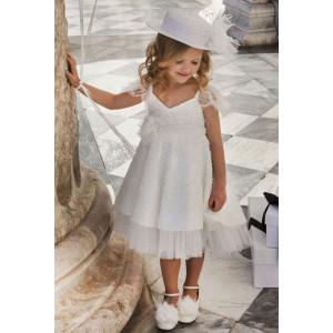 Ολοκληρωμένο πακέτο σετ βάπτισης κορίτσι Dolce Bambini 6021-1 narlis.gr