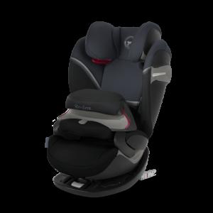 Παιδικό κάθισμα αυτοκινήτου Cybex Pallas S-Fix (Graphit Black)