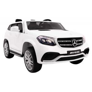 Ηλεκτροκίνητο Αυτοκίνητο με τηλεχειρισμό Mercedes AMG GLS63 White (#737.353.020#)