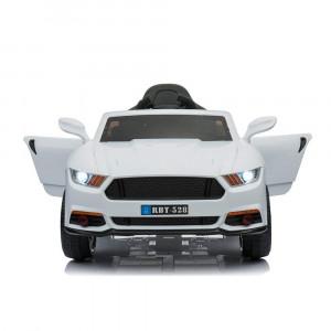 Ηλεκτροκίνητο αυτοκίνητο με τηλεχειρισμό Bo Mercury Moni λευκό (Κωδ.737.353.025)