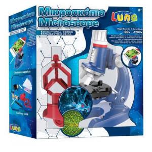 Μικροσκόπιο 100Χ-1200Χ 28mm με βάση κινητού Luna (#760.001.033#)