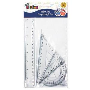 Γεωμετρικό Σετ 4τμχ 20cm (#760.001.030#)