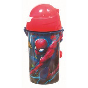 Παγούρι με καλαμάκι Spiderman (Κωδ.151.539.045)