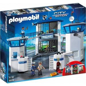 Playmobil Αρχηγείο Αστυνομίας και Φυλακή Ασφαλείας 6919, παιδικό παιχνίδι, narlis.gr