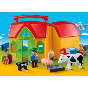 Playmobil Φάρμα Βαλιτσάκι 123 6962 Κωδ. 787.342.292