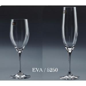 Ποτήρι κρασιού-σαμπάνιας BOHEMIA EVA(5250)