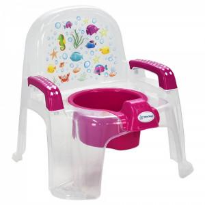 Γιογιό Κάθισμα Chair Διάφανο Pink